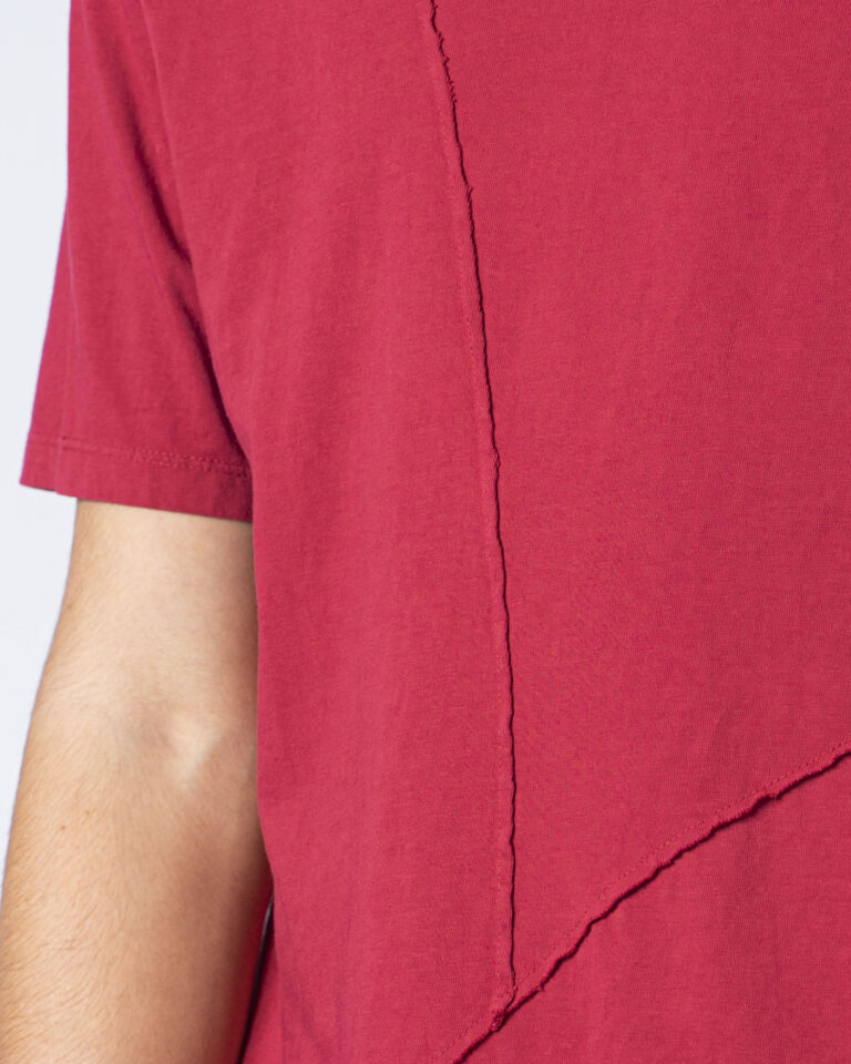 T-shirt Imperial CUCITURA FRONTALE Rosso - Foto 3