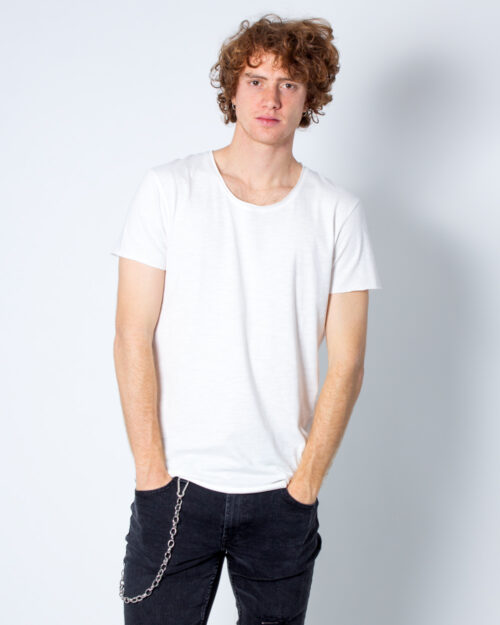 T-shirt Jack Jones BAS Bianco – 27625