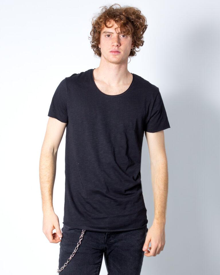 T-shirt Jack Jones BAS Nero - Foto 2