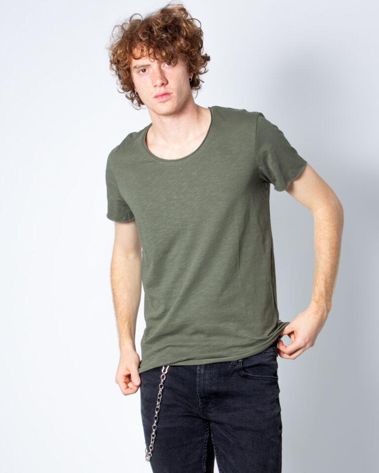 T-shirt Jack Jones BAS Verde - Foto 1
