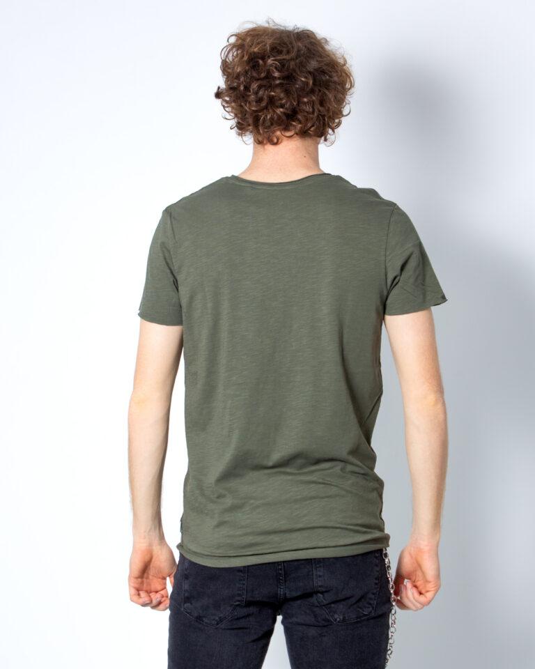 T-shirt Jack Jones BAS Verde - Foto 3