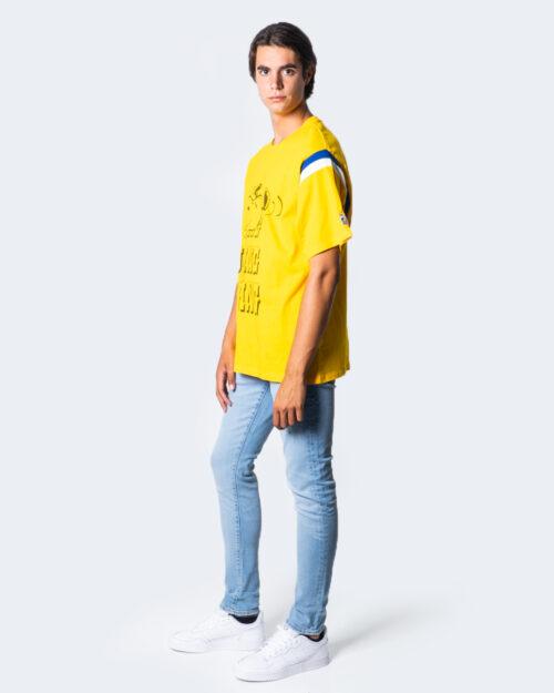 T-shirt Levi's® Football Tee Jogging Snoopy Giallo – 53456