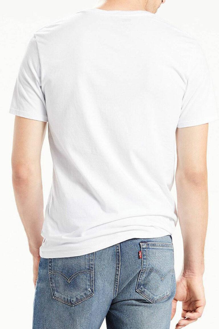 T-shirt Levi's® HOUSEMARK TEE Bianco - Foto 2