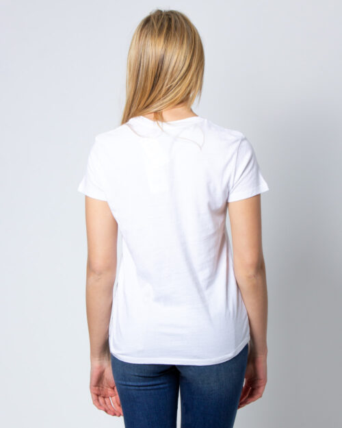 T-shirt Levi's® The Perfect Graphic Tee Bianco - Foto 2