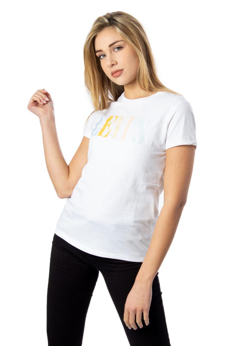 T-shirt Levi's® THE PERFECT Bianco - Foto 1