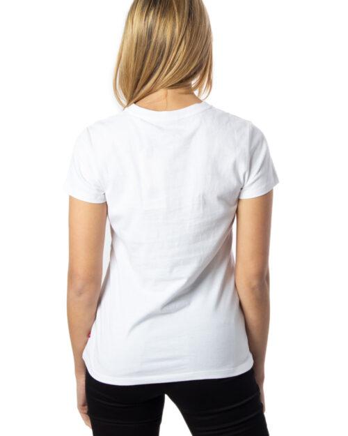 T-shirt Levi's® THE PERFECT Bianco - Foto 2