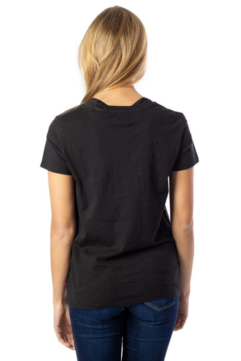 T-shirt Levi's® THE PERFECT TEE Nero - Foto 3