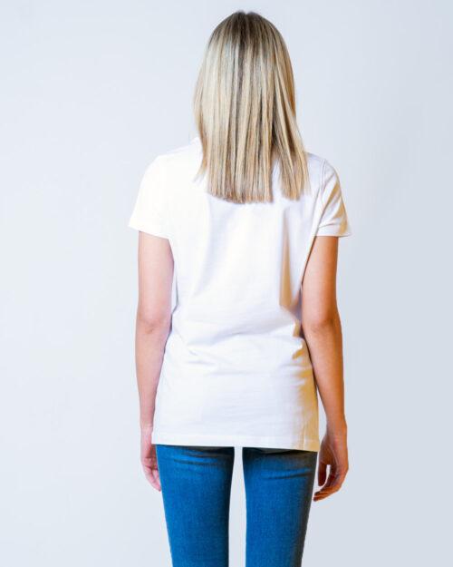 T-shirt Love Moschino LOGO CORE Bianco - Foto 3