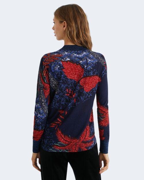T-shirt manica lunga Desigual TS maryland Blu – 61730