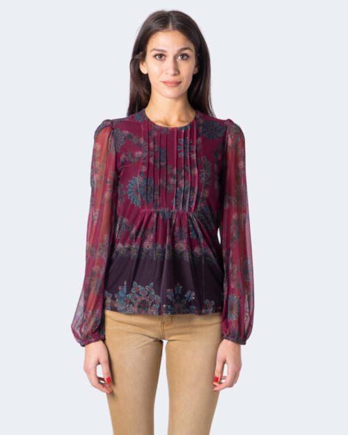 T-shirt manica lunga Desigual Ts lenny Bordeaux – 59169