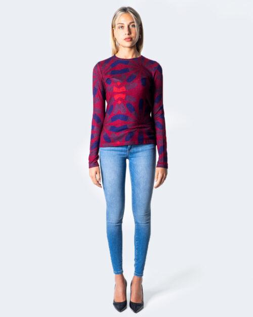 T-shirt manica lunga Desigual TS MARGARITA Rosso – 52906