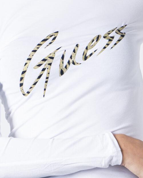 T-shirt manica lunga Guess NORAH TEE Bianco - Foto 3
