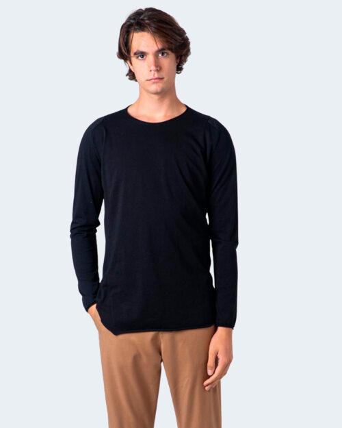 T-shirt manica lunga Imperial ORLO TAGLIO VIVO Nero - Foto 1