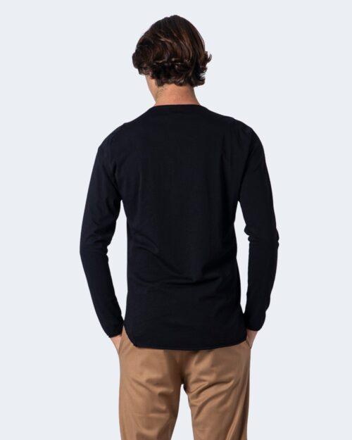 T-shirt manica lunga Imperial ORLO TAGLIO VIVO Nero - Foto 2