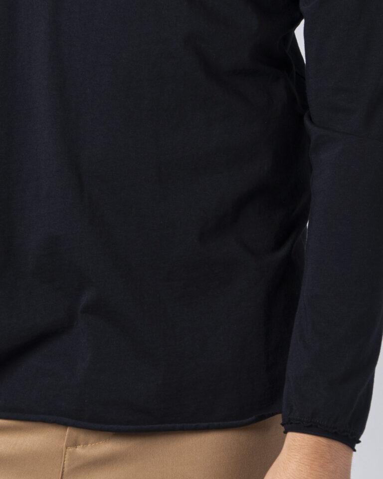T-shirt manica lunga Imperial ORLO TAGLIO VIVO Nero - Foto 3