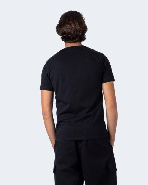 T-shirt Imperial TASCHINO APPLICAZIONE LANA Nero – 55086