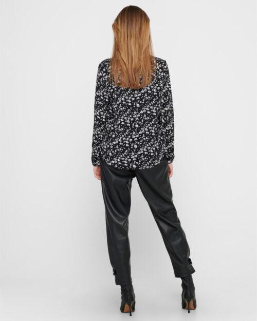 T-shirt manica lunga Jacqueline De Yong PIPER Nero – 61546