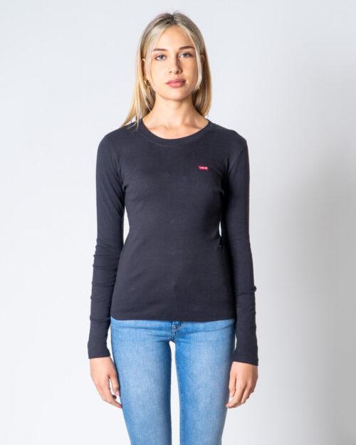 T-shirt manica lunga Levi's® LS Baby Tee Nero – 52927