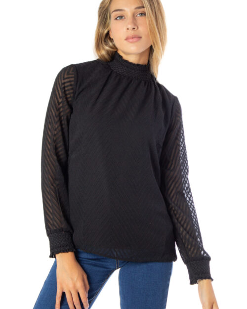 T-shirt manica lunga Only New kayla L/S Top Loose fit Noos Nero – 36691