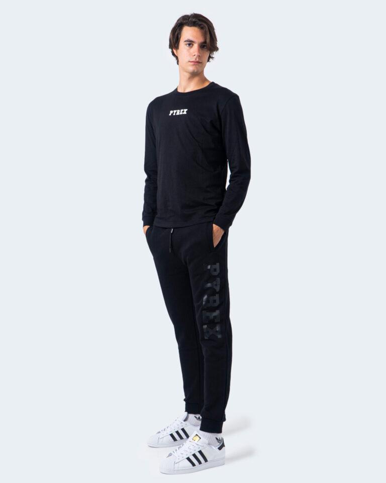 T-shirt manica lunga Pyrex STAMPA RETRO Nero - Foto 2