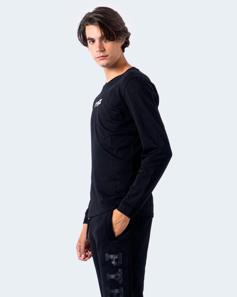 T-shirt manica lunga Pyrex STAMPA RETRO Nero - Foto 4