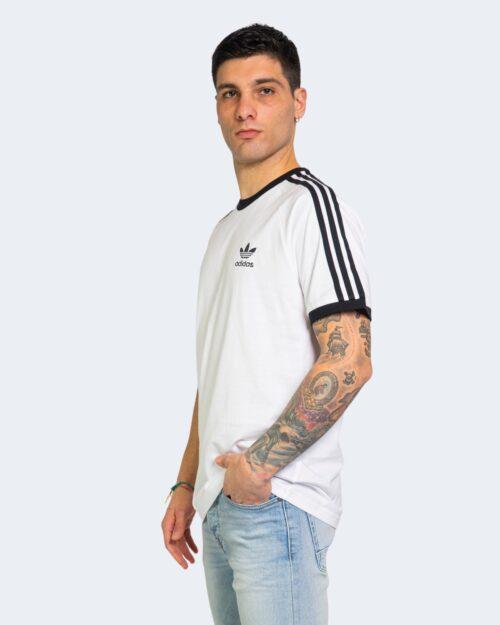 T-shirt Adidas STRIPES Bianco - Foto 2