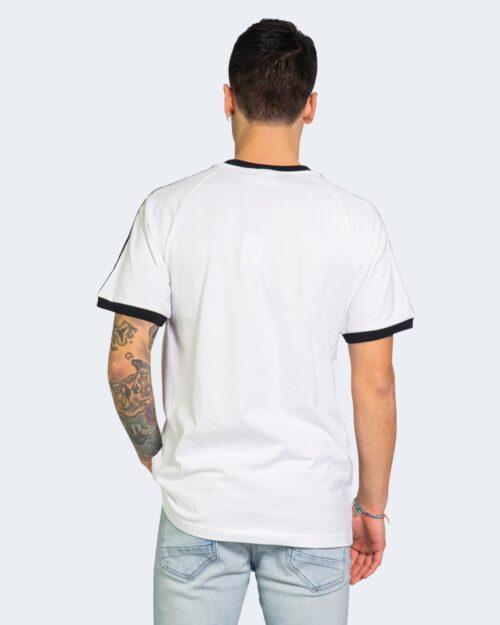 T-shirt Adidas STRIPES Bianco - Foto 3
