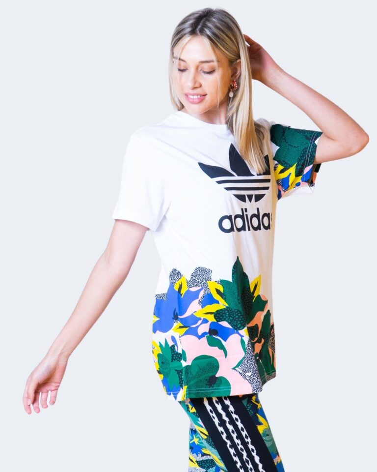 T-shirt Adidas - Bianco - Foto 1