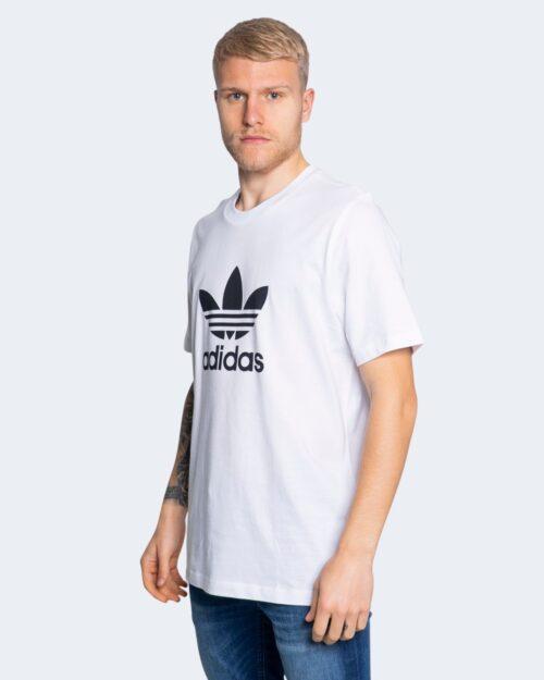 T-shirt Adidas TREFOIL Bianco - Foto 1