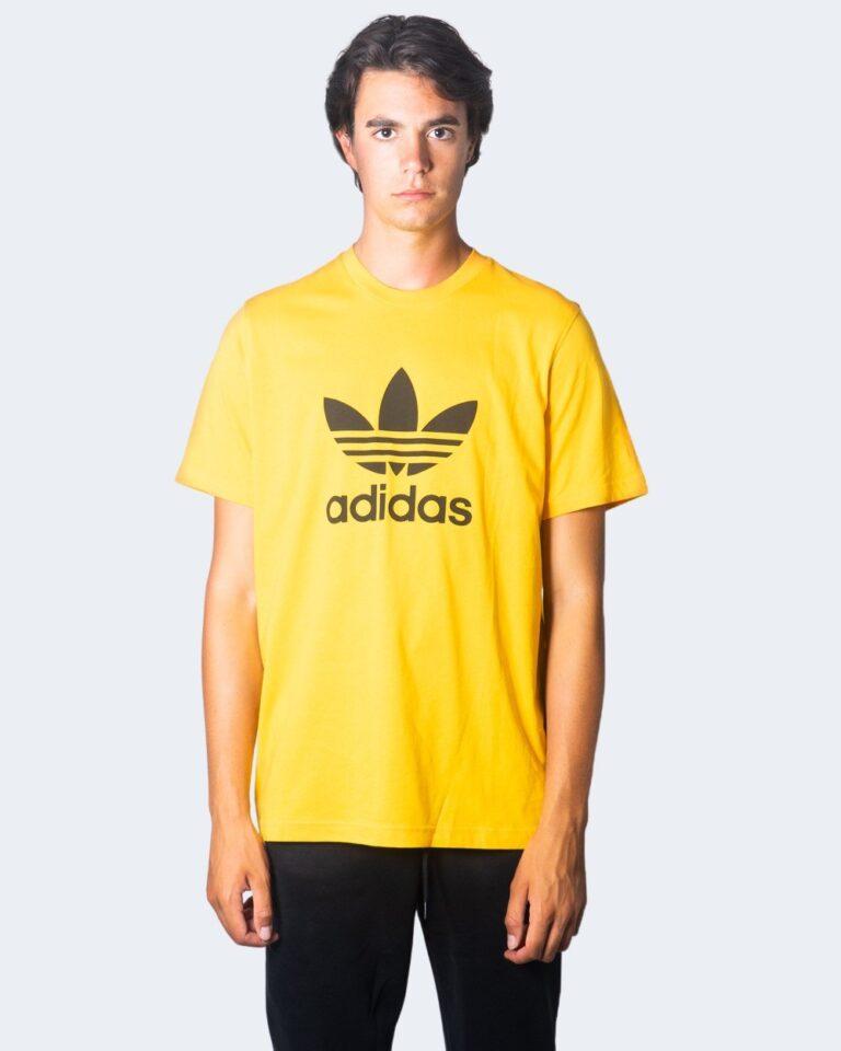 T-shirt Adidas TREFOIL LOGO Ocra - Foto 1