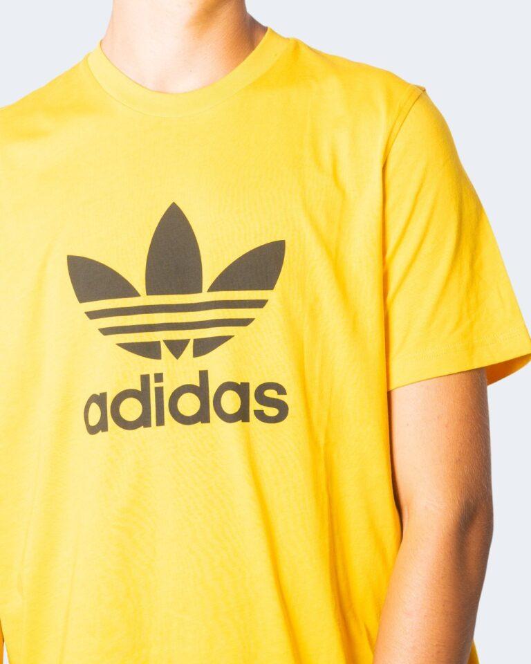 T-shirt Adidas TREFOIL LOGO Ocra - Foto 3