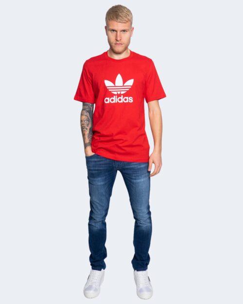 T-shirt Adidas TREFOIL Rosso - Foto 2