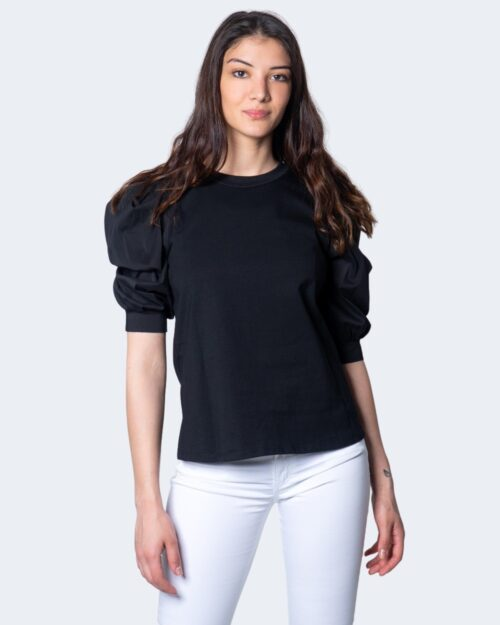 T-shirt Akè MANICA PALLONCINO Nero – 45378