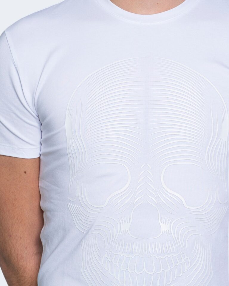 T-shirt Antony Morato SUPER SLIM FIT Bianco - Foto 3