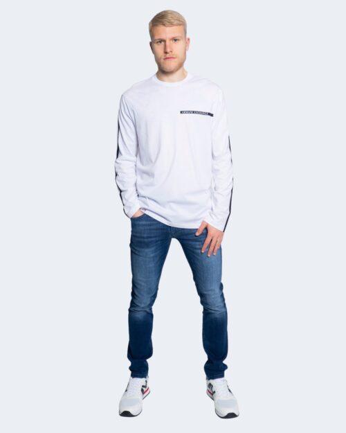 T-shirt Armani Exchange STAMPA LOGO POCCOLO Bianco – 65143