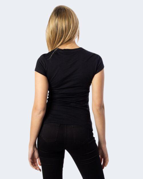 T-shirt Armani Exchange PAILLETTES Nero - Foto 3