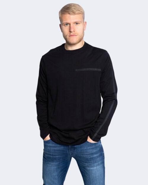 T-shirt Armani Exchange STAMPA LOGO POCCOLO Nero – 65143