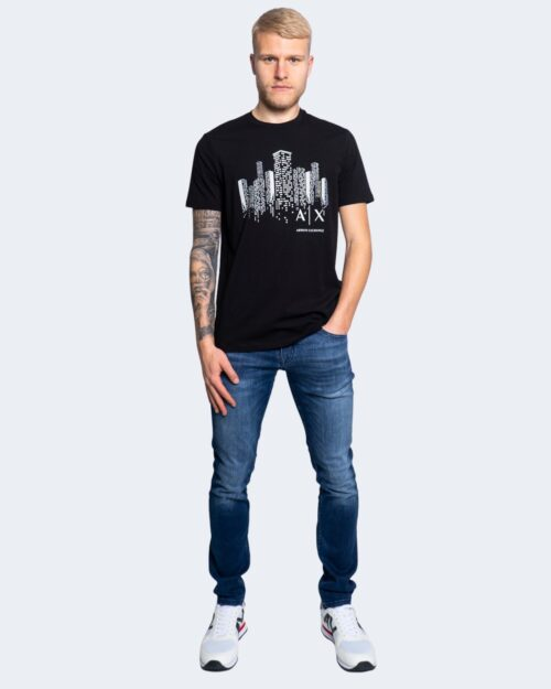 T-shirt Armani Exchange – Nero – 65144