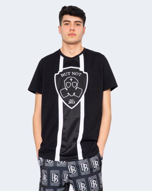 T-shirt But Not RICAMO LOGO SCUDETTO FASCIA Nero – 67073
