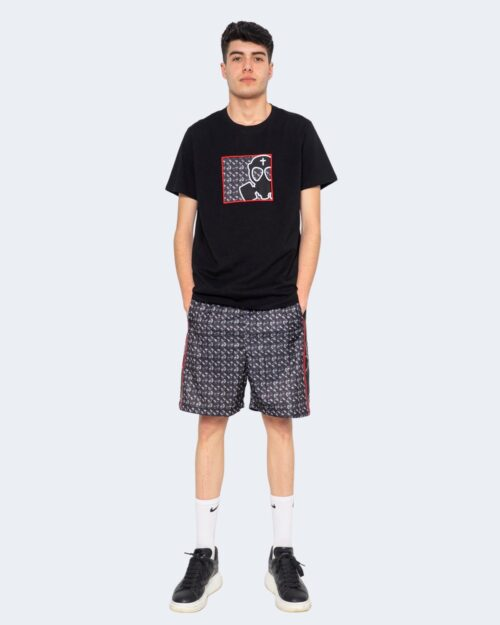 T-shirt But Not RICAMO PATCH MASK Nero – 67079
