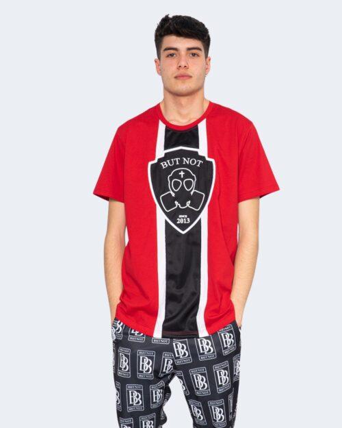 T-shirt But Not RICAMO LOGO SCUDETTO FASCIA Rosso – 67073