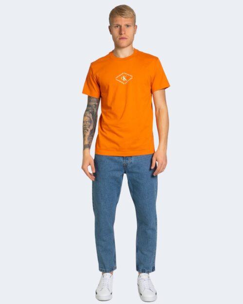 T-shirt Calvin Klein MONOTRIANGLE Arancione – 64618