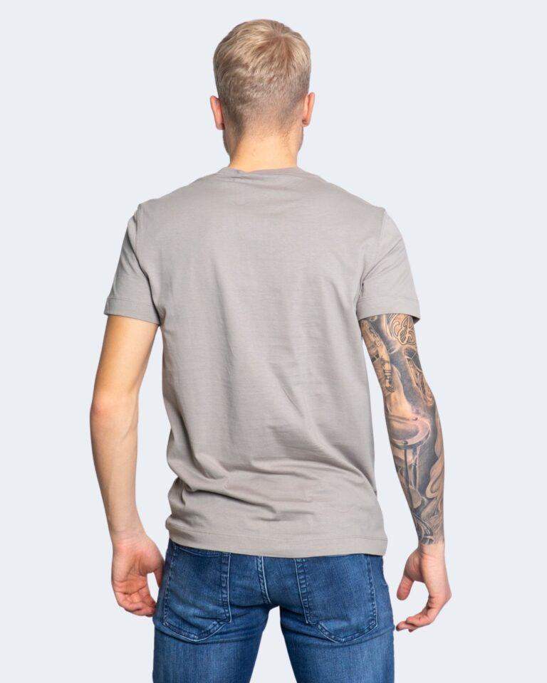 T-shirt Calvin Klein Jeans NEW ICONIC ESSENTIAL Grigio Chiaro - Foto 3