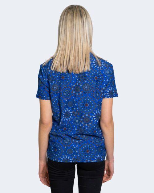 T-shirt Desigual LYON Azzurro - Foto 2