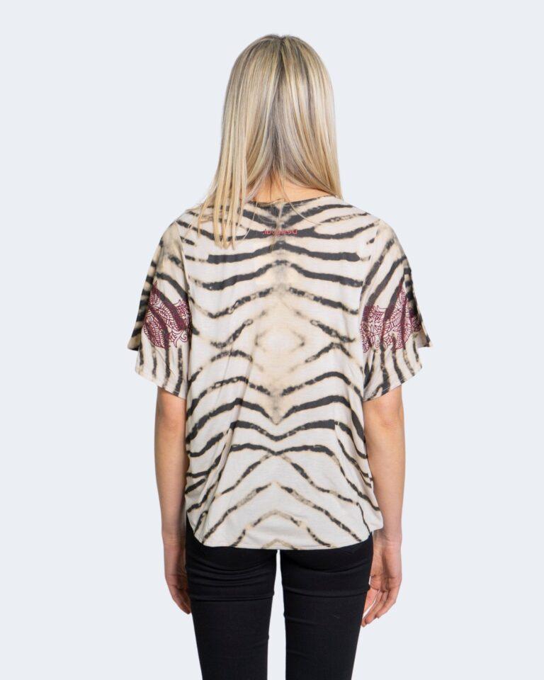 Desigual T-shirt Stampa tigrata 20wwtk56 - 2