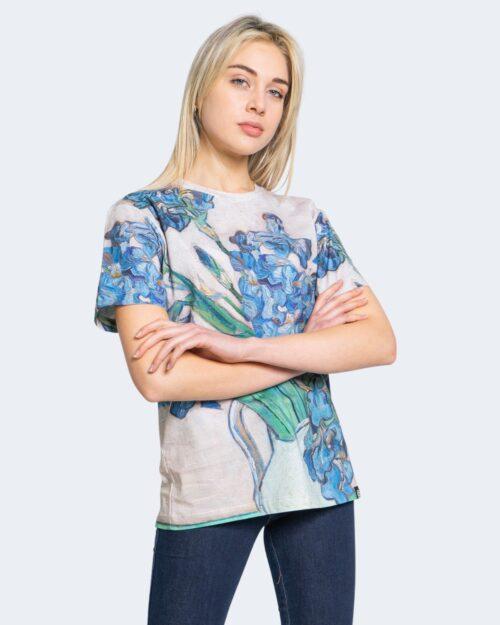 T-shirt Desigual TS VAN GOGH Beige - Foto 1