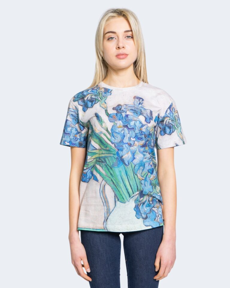 T-shirt Desigual TS VAN GOGH Beige - Foto 2