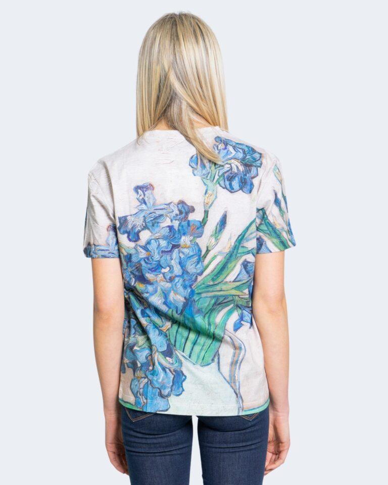 T-shirt Desigual TS VAN GOGH Beige - Foto 3