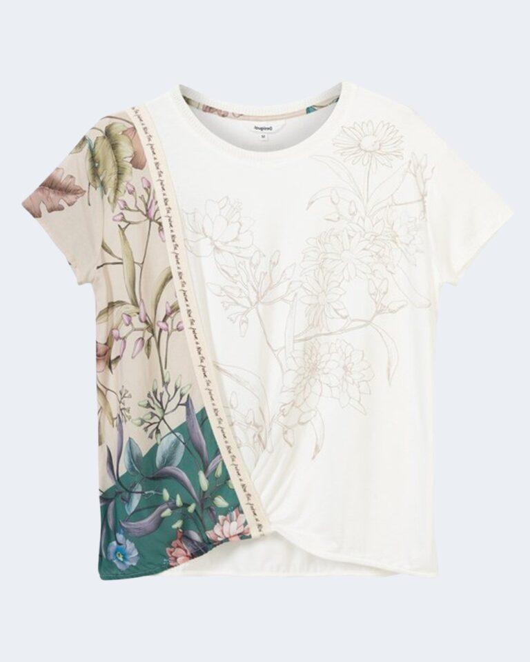 T-shirt Desigual EDIMBURGO Bianco - Foto 2