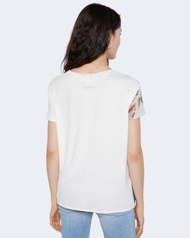 T-shirt Desigual EDIMBURGO Bianco - Foto 3